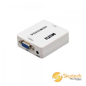 MINI-sized Converter: HDMI to VGA (HDMI2VGA)