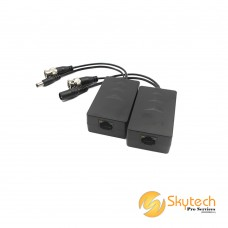 DAHUA 1ch Passive Video Balun with Power for HD-CVI/AHD/TVI/CVBS 720P/1080P/4MP (PFM801-4MP)