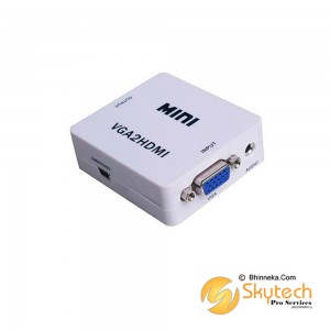MINI-sized Converter: VGA to HDMI (VGA2HDMI)