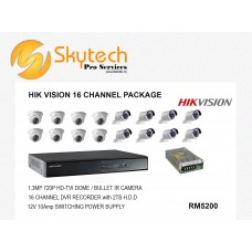 HIK-VISION 16 CHANNEL PACKAGE
