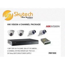 HIK-VISION 4 CHANNEL PACKAGE