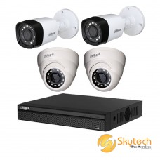 DAHUA 720P 4 CHANNEL 1100 SERIES HD PACKAGE A