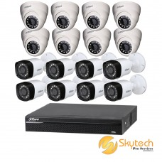 DAHUA 720P 16 CHANNEL 1100 SERIES HD PACKAGE C