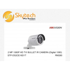 HIK-VISION 2MP 1080P HD-TVI BULLET IR CAMERA