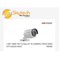 HIK-VISION 2MP 1080P HD-TVI BULLET IR CAMERA (TRUE WDR)