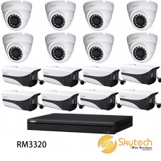 DAHUA 1080P 16 CHANNEL HD-CVI 1220 PACKAGE
