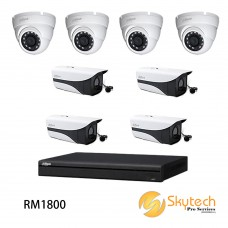 DAHUA 1080P 8 CHANNEL HD-CVI 1220 PACKAGE