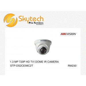 HIK-VISION 1.3MP 720P HD-TVI DOME IR CAMERA