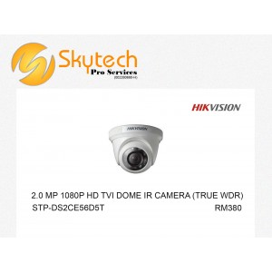 HIK-VISION 2MP 1080P HD-TVI DOME IR CAMERA
