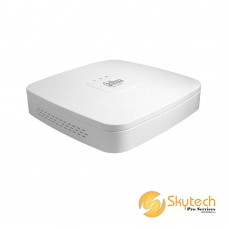 DAHUA 4 channel Smart 1U H.264 NVR with 4-port POE (NVR2104-P-S2)