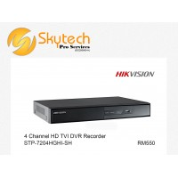 HIK-VISION 4 CHANNEL HD-TVI DVR DECORDER