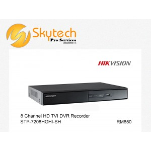 HIK-VISION 8 CHANNEL HD-TVI DVR DECORDER