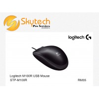 Logitech M100R USB Optical Mouse