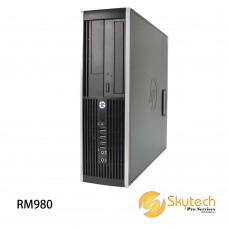 REFURBISHED HP ELITE 8300 SFF 4GB RAM CPU OFFICE SET