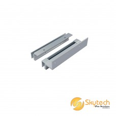 DSU-600 Type - Top & Bottom Glass Door Application (min 3mm gap required)