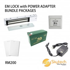 EM LOCK with POWER SUPPLY BUNDLE PACKAGES