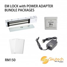 EM LOCK with POWER ADAPTER BUNDLE PACKAGES