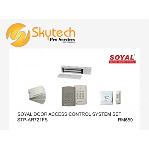 SOYAL MAGNETIC DOOR ACCESS SYSTEM