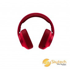 Logitech G433 7.1 Wired Surround Gaming Headset - RED