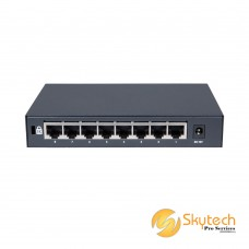 DAHUA 4FE PoE + 1FE Uplink Unmanaged Switch (PFS3005-4P-58)