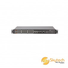 DAHUA 24FE PoE + 2GE Combo Managed Switch (Max 240/360W PoE output) (PFS4226-24ET-360)